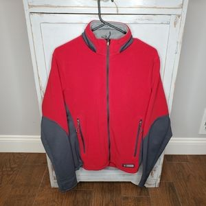 REI Polartec Fleece Sweater Medium Red